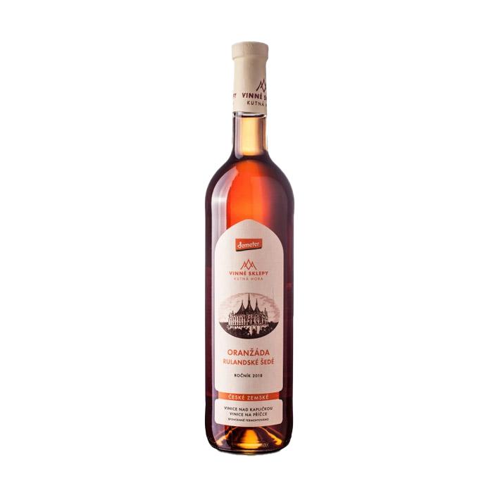 Oranžáda Rulandské Šedé (Pinot Gris)